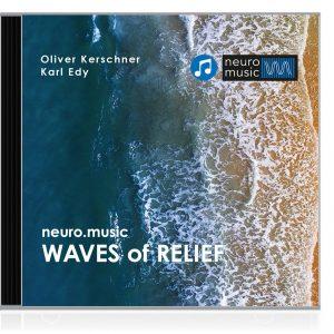 CD Cover mit dem Meer aus der Vogelperspektive