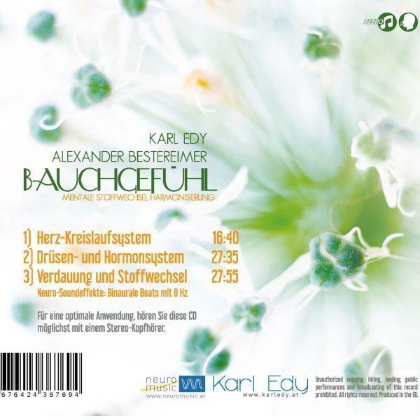 CD Cover Bauchgefühl