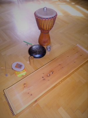 Flowing Vibes Workshop Instrumente